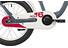 s'cool niXe 16 steel Børnecykel grå/hvid